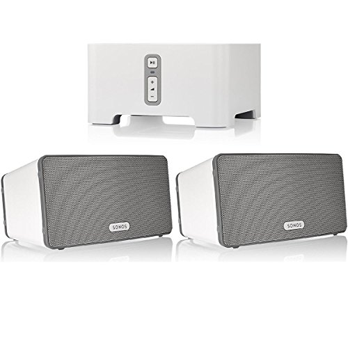 sonos-connect-wireless-receiver-for-streaming-music-bundle-sonos-play3-wireless-speaker-pair-white