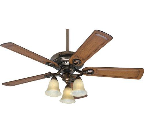 Patina 52 Inch Ceiling Fan (Hunter 54059 Whitten Bronze Patina 52