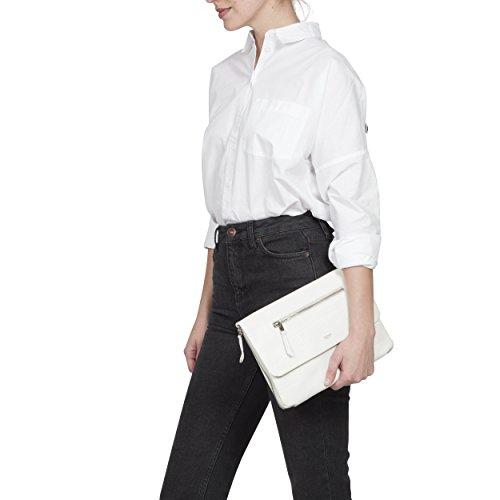 Knomo Luggage Women's Elektronista Cross Body Bag, White,...