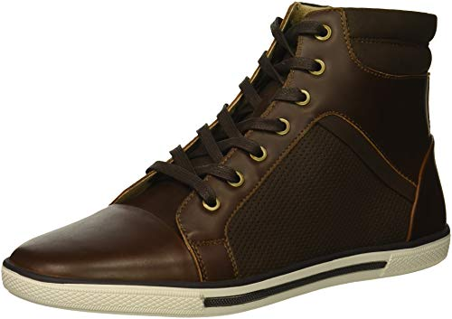 Kenneth Cole Unlisted Men Crown Worthy Fashion Sneaker Brown Combo