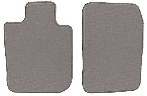 GGBAILEY Buick Rainier 2004, 2005, 2006, 2007 Grey Loop Driver & Passenger Floor Mats ()