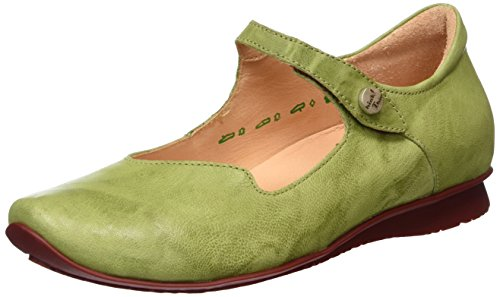 Think Chilli, Bailarinas para Mujer Verde (apfel/kombi 59)