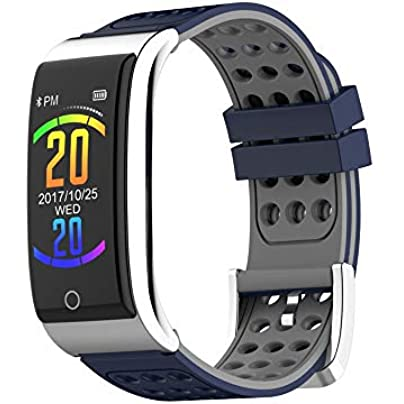 GoYisi Smart Wristbands E08 0 96 inches OLED Color Screen Smart Bracelet IP67 Waterproof Support Call Reminder Heart Rate Monitoring Sleep Monitoring Blood Pressure Monitoring Electrocardiogram Estimated Price -