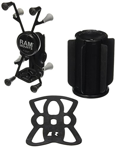 "RAM Mounts (RAP-299-3-UN8) Ram-A-Can Ii Universal Cup Holder Mount with Universal X-Grip Ii Holder for 7"" Tablets Including the Ipad Mini 1-3"