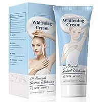 60ml Whitening Cream,Skin Lightening Cream,Effective Lightening Cream for Knees,Elbows,Armpit