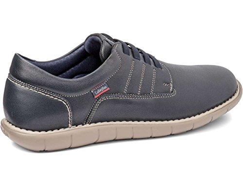 Callaghan 11000, Zapatos de Cordones Derby para Hombre Azul