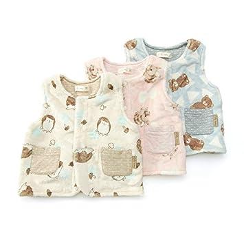 1f007b937b600 Lily ivory (リリー アイボリー ) ベスト (70~90cm) キムラタンの子供服