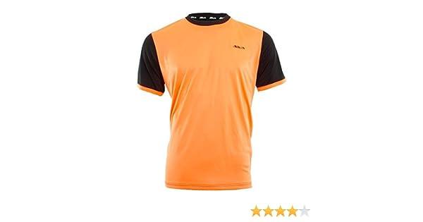 Siux Camiseta Hermes Naranja Negro