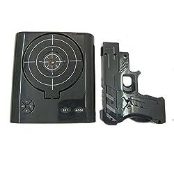 Lock N Load Gun Alarm Clock Target Alarm Clock Game Shooter Shooting Alarm Clock Set