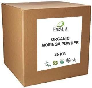 Moringa Oleifera Leaf Powder 20 KG or 44 lbs. - USDA Certified Organic, Non GMO, RAW, Natural Herbal Vitamin Supplement in Bulk