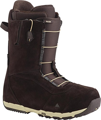 Burton Ruler Leather Snowboard Boots Brown Sz 13 ()