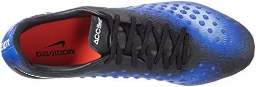 Nike 843813-018, Botas de Fútbol para Hombre Negro (Black / White / Paramount Blue / Aluminum)