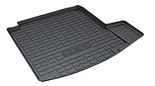 Chevrolet Malibu Carpet - Vesul Rubber Rear Trunk Cover Cargo Liner Trunk Tray Floor Mat Carpet Compatible with Chevy Chevrolet Malibu 2016 2017 2018 2019