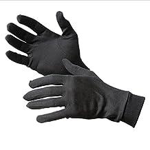 1 Pair Liner Inner Gloves Ski Under Glove Motorcycle Skiing Cycling Black