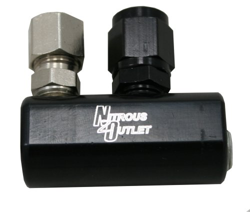 Nitrous Outlet GM EFI Fuel Rail Distribution Block Distribution Outlet