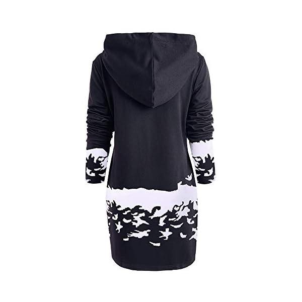 Christmas & New Year Hooded Sweatshirt Dress