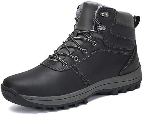 [ダント] スノーシューズ メンズ スノーブーツ 防寒靴 ムートンブーツ 暖かい 保暖 裏起毛 ウィンターブーツ 雪靴 冬用
