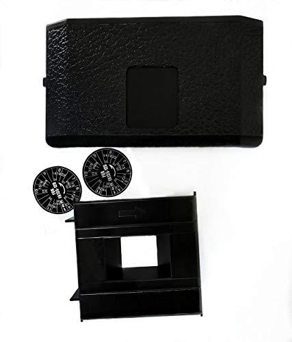 Holga 135 Film Adapter Kit for 120N 120GCFN 120CFN 120GFN 120GN 120FN 120GTLR 120TLR, Including a Frame Mask, a Camera Back and a Frame Counter Sticker