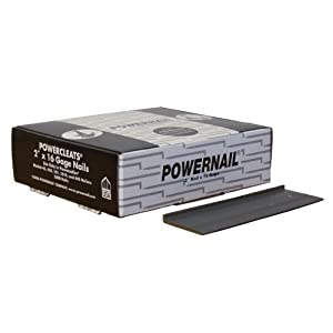 "Powernail PowerCleat 16ga 2"" L-Cleat. Box of 5,000"