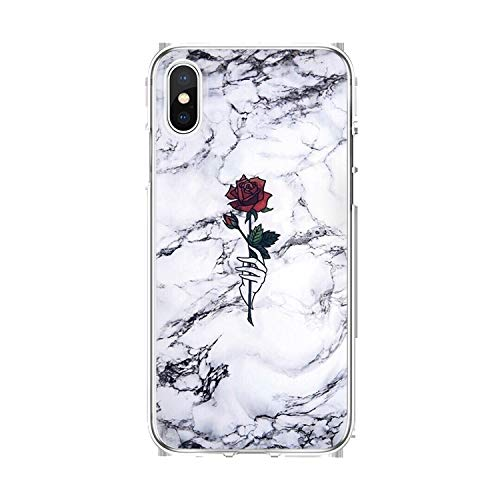 Amazon.com: Marble for Samsung Galaxy A8 S8 S9 Plus A70 for ...