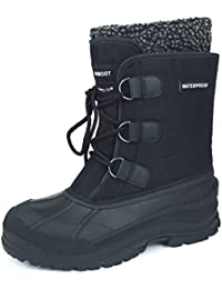 WINBOOT Winter Snow Boot Waterproof Insulated Cold Weather Boot With Removable Liner