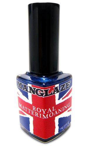 Matte Nail Polish, Royal Matterimoaning - Sapphire Blue