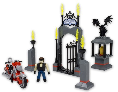 The Bridge Direct WWE StackDown Undertaker Entrance Set with Motorcycle by The Bridge Direct