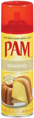 Pam No-Stick Cooking Spray, Baking, 5 oz (Pack of 9)