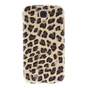 MOFY-Del estampado leopardo la cubierta del estuche duro de protecci—n trasera para Samsung Galaxy S4 i9500