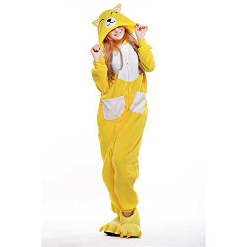 Unisex Onesie One-Piece Animal Pajamas Halloween Costume -