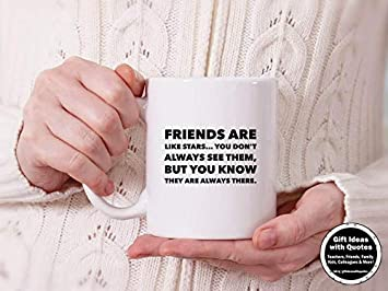 Amazoncom Friend Distance Gift Friends Are Like Stars Quote Friend