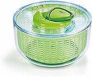 Secador de Salada Zyliss Easy Spin, grande, verde, livre de BPA