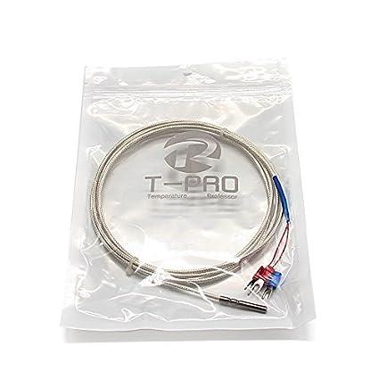 Amazon.com: T-PRO RTD PT100 Temperature Sensor Three-wire System ...