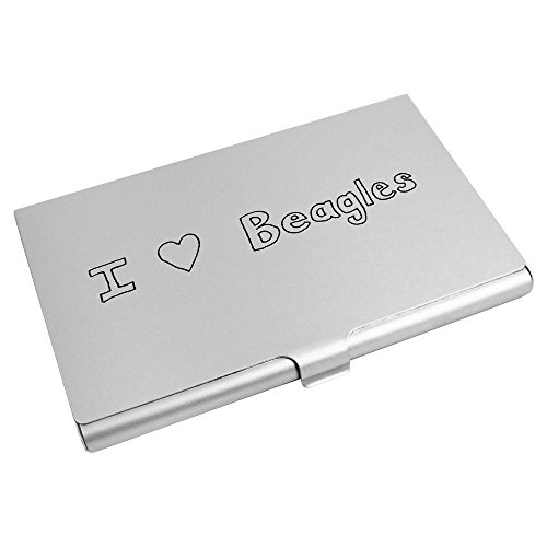 CH00008374 Credit Card 'I Love Holder Azeeda Wallet Card Beagles' Business w1SzgTxZ