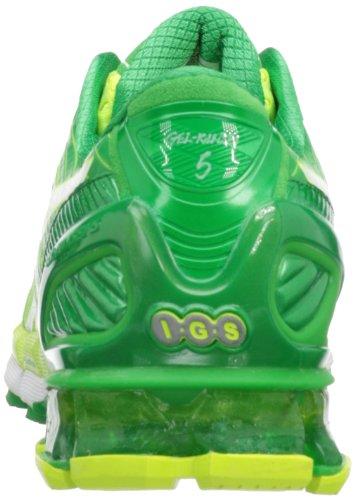 Asics - Zapatillas de running para hombre Flsh Yllw/Wht/Grn