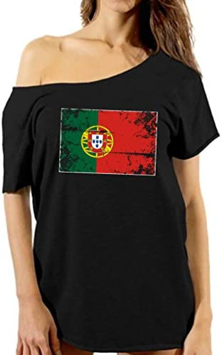Threadrock Men/'s Portugal National Team Hoodie Sweatshirt Portuguese Flag