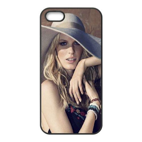 Girl Blonde Eyes LiPs Hands Hat 16697 coque iPhone 5 5S cellulaire cas coque de téléphone cas téléphone cellulaire noir couvercle EOKXLLNCD23913