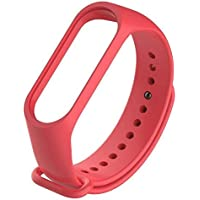 HUMBLE Replacement Band Strap for Xiaomi Mi Band 3(Device not Included)-RED