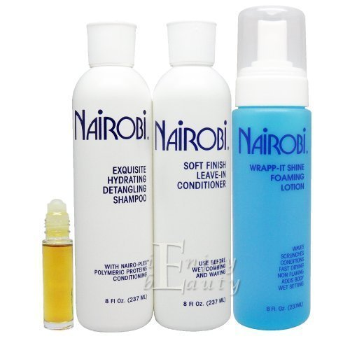 Nairobi Exquisite Hydrating Detangling Shampoo and Conditioner Set by Nairobi