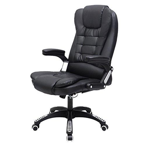 New Executive Ergonomic Computer Desk Vibrating Massage Chair Home Office Ergonomic