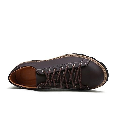 Salabobo - Zapatos Planos con Cordones hombre , color naranja, talla 40 EU