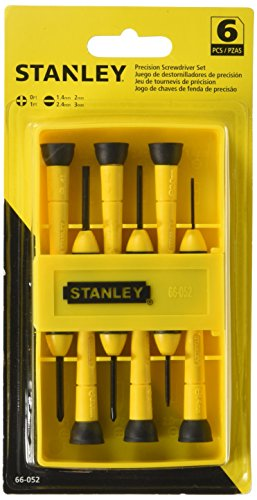 Stanley 66-052 6-Piece Precision Screwdriver Set (Precision Screwdrivers Set)
