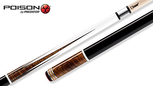 Poison Pool Cues - POISON Arsenic³-1 Pool Cue with Venom² Low-Deflection Shaft