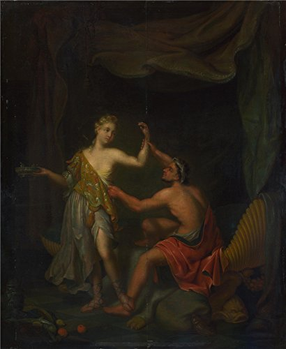 High Quality Polyster Canvas ,the Imitations Art DecorativePrints On Canvas Of Oil Painting 'Philip Van Santvoort The Rape Of Tamar By Amnon ', 12 X 15 Inch / 30 X 37 Cm Is Best For Laundry Room Artwork And Home Decoration And Gifts - Dj Dead Mouse Costume