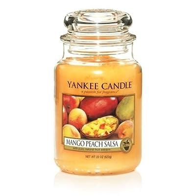 Yankee Candle Company Mango Peach Salsa Large Jar Candle