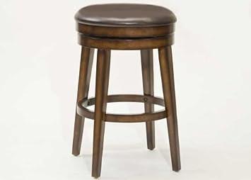Hillsdale Furniture Beechland Backless Swivel Bar Stool