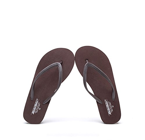 Flip Comfort Shoes for C amp; Women's Slippers Flat Beach Casual Size Round 38 Color Heel Flops Toe Summer Shoes wEXxqd4f