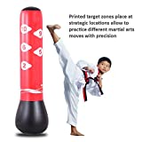 Fitness Inflatable Punching Bag Freestanding Power