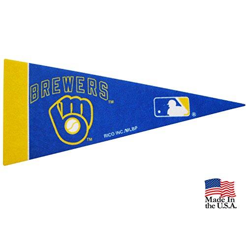 Rico Milwaukee Brewers MLB Mini Pennant 9
