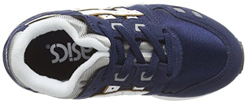 Low 5001 Blue Navy Ps White Lyte III Asics Top Kids' Sneakers Gel Unisex az7qUwYv